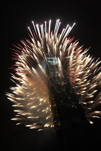 2010跨年101煙火秀