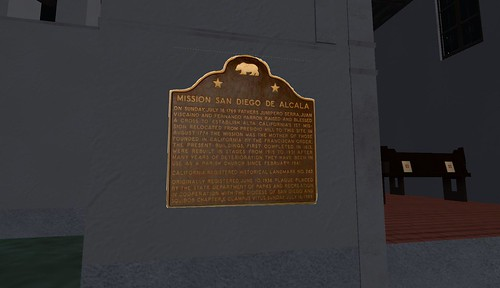 san diego historic missions in second life