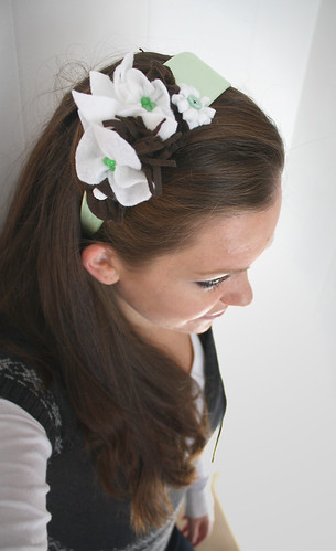 Mint Chocolate Chip Headband