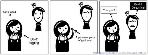 My Comical Family Comics #11 Edible Gold Snot