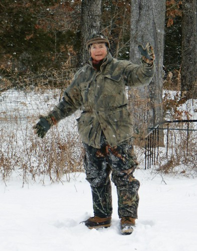 The Best Dressed Naturalist - Winter