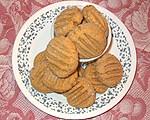 Champa's Vegan Peanut Butter Cornmeal Cookies