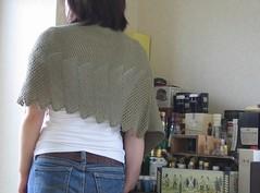 Lace Cotton Ponchette