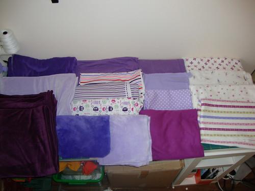 Spring swap 2010 fabrics