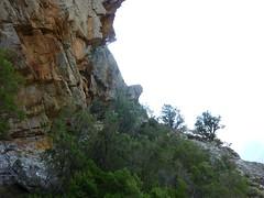 Vire du Castellu : vers la fin de la vire