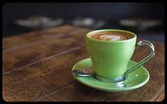 Macchiato (Robbie E-P1) Tags: life green cup coffee lumix still olympus 20mm ep1 macciato