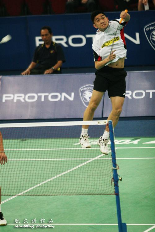 Tan Boon Heong Jumping smash