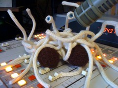 flying spaghetti monster on the air