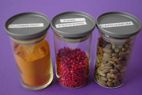 Bodem spice jars