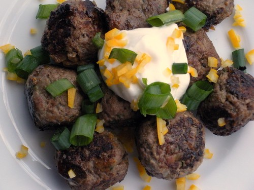 Lamb Meatballs w/ preserved lemon