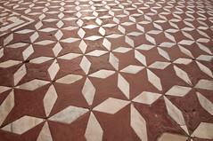 Taj Mahal Floor Pattern