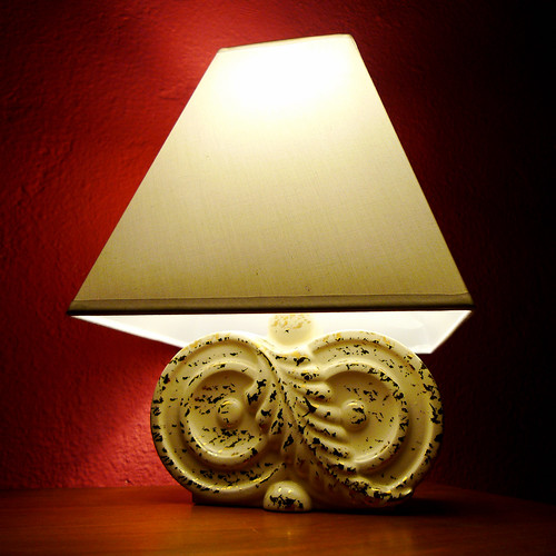 My Favorite Lamp (one of a pair)