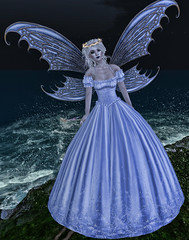 The Fairy Princess (Arabella Steadham) Tags: bluedress arabellasamblings