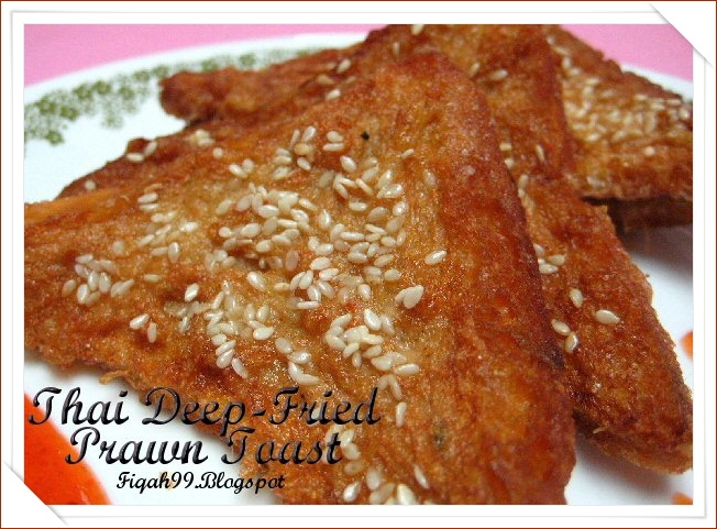 thai deep fried prawn toast