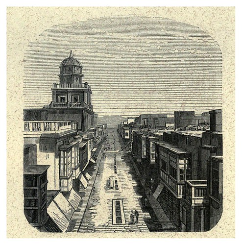004-Calle de las Mantas-Lima or Sketches of the capital of Peru-1866- Manuel Atanasio Fuentes Delgado