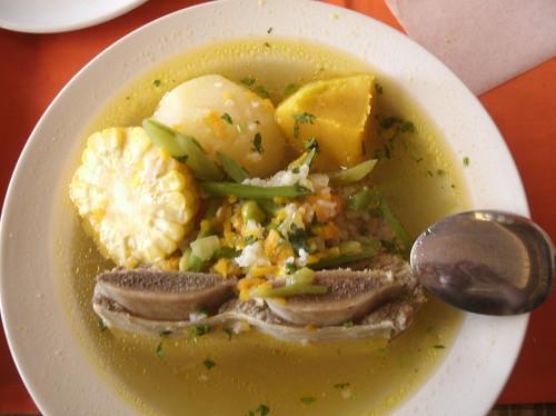 3rd February: Almuerzo (Cazuela)