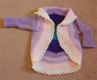 Completed, front view, child size