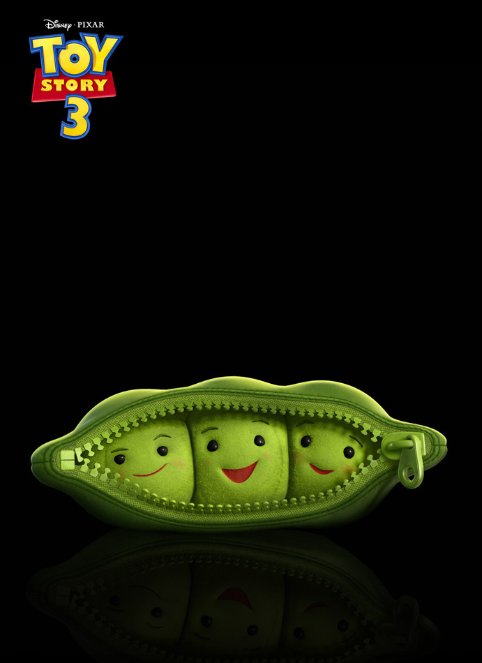 Toy Story 3 Peas in a Pod