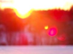 So Happy I Could Die. (Marilyn Little) Tags: pink red sun snow colors sunshine bokeh snowy warmth flare blizzard hehe whyhellomarilynyouhaveprettyflares areyougoingtowatchprojectrunwaytonightd dearlindsayanneyouarehilariousd yesyesyesprftwishallwatchitonlinehiphiphoraayd woohooidkwhattimeitsoneimustgocheck lookslikeitcomeson10pm