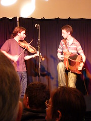 James Delarre and Nick Cooke (Bryn Pinzgauer) Tags: festival folk folkmusic cheltenham 2010 mawkin causley nickcooke jamesdelarre