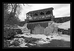 Enchanta Bridge, Moore State Park, Paxton, Ma. (SpokenShutter.com) Tags: winter snow ice water waterfall newengland waterfalls