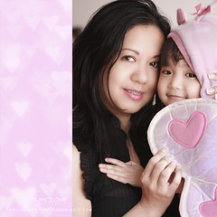 Everyday is Valentine if I can call you mine (lancelonie) Tags: pink costume hug diptych heart bokeh embrace motherchild motherandchild valentinesday motherdaughter motheranddaughter pinkhearts heartbokeh nelonie lanceloniephotography beetlecostume