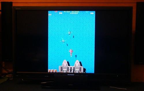 "MAME 模擬電玩@Sony 40"" Z5500 LCD"