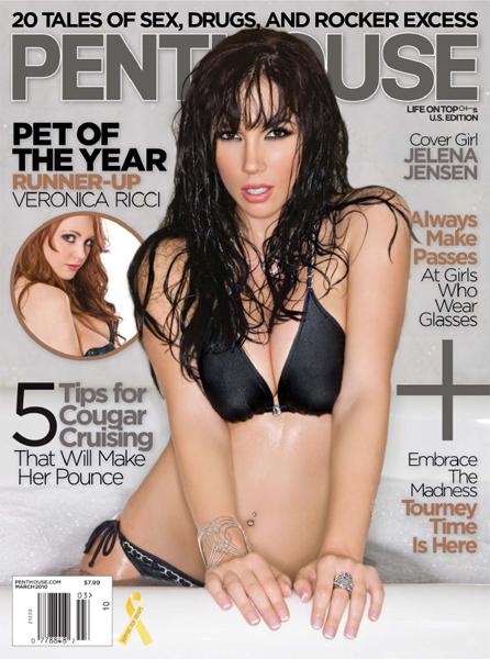 美国《阁楼》杂志Penthouse - March 2010 / USA