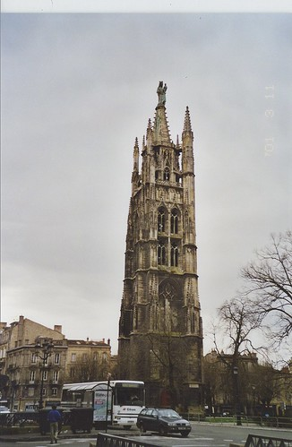 2001-03-11 Bordeaux France (la Cathedral Saint Andre)