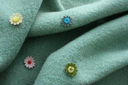 Four Button Flowers