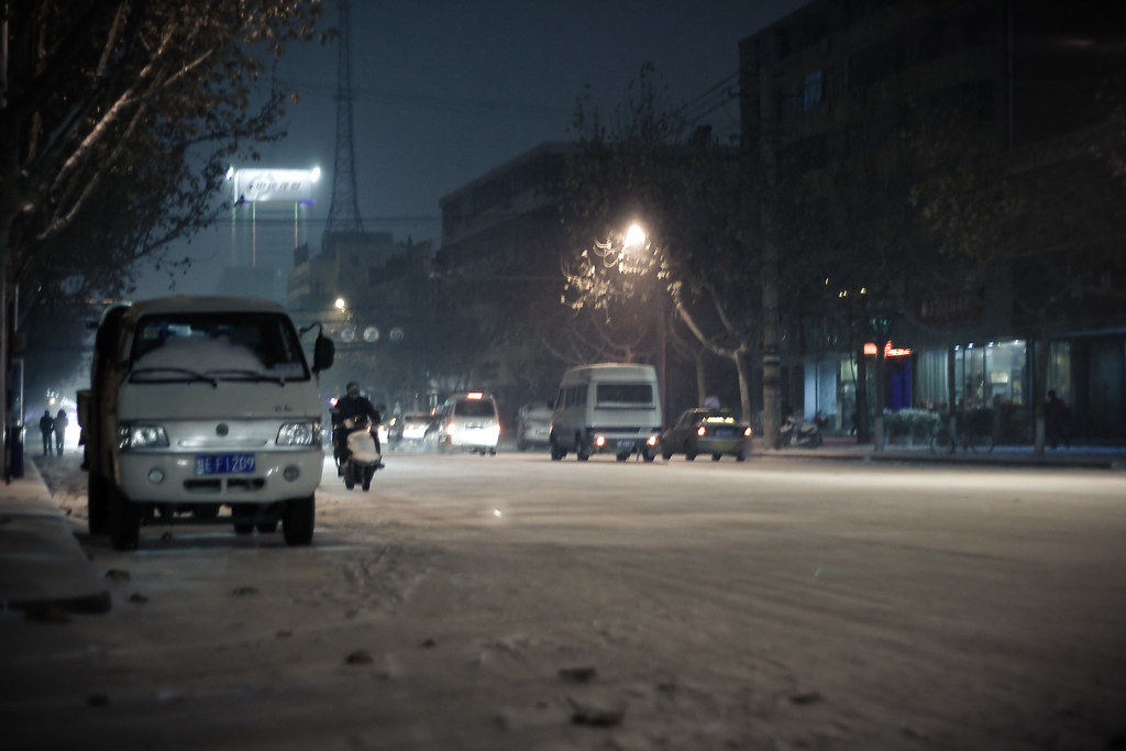 Weinan in Winter
