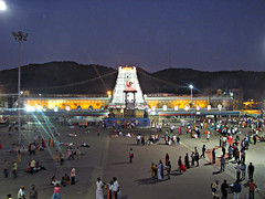 Tirumala..... (Ashok666) Tags: india religious temple dawn worship god indian religion places lord hills holy sri seven ap hindu hinduism andhra mythology darshan balaji tirupati abode pradesh venkat govinda vari tirumala richest venkateswara srinivasa sapthagiri devasthanam vaikuntam