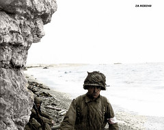 American medic - Omaha beach 1944 (Za Rodinu) Tags: world 2 man men history vintage soldier war gun russia military rifle rifles front german weapon ww2 soldiers historical guns 1942 1945 rare troops 1944 1943