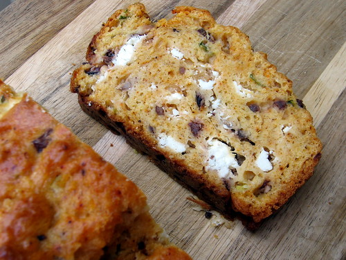 GOAT CHEESE AND OLIVE BREAD
