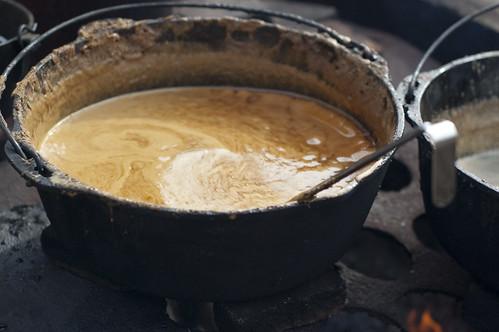 Boiling taffy