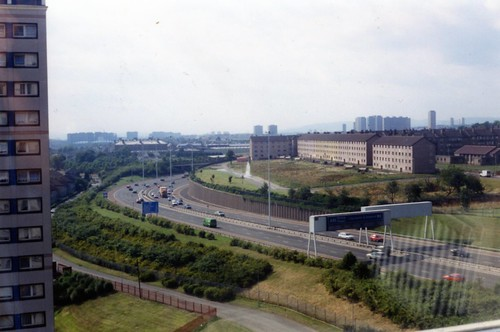 Ruchazie from Cranhill High Flats 1994