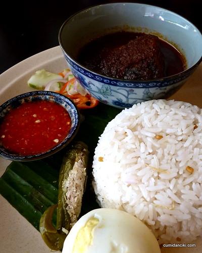 Malaysian Nasi Dagang