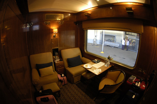 Blue Train (South Africa) - Cabin