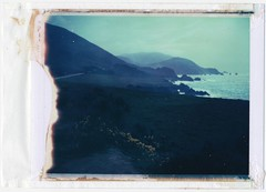 Big Sur Polaroid #1, 2010 (ryantatar) Tags: film analog polaroid bigsur polaroid100