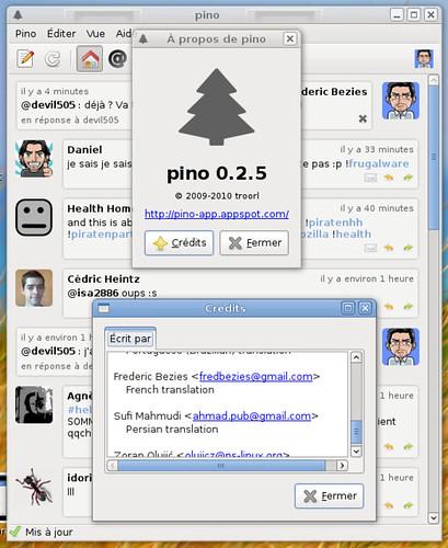 Crédits de pino 0.2.5