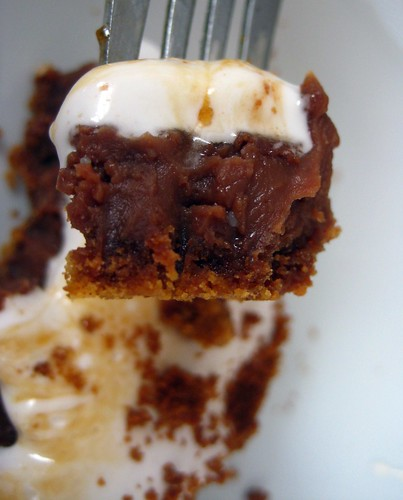 Inside S'mores Pie