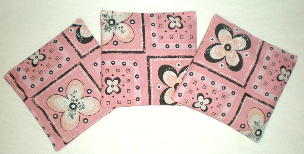 Pink & Black Lavender Sachets