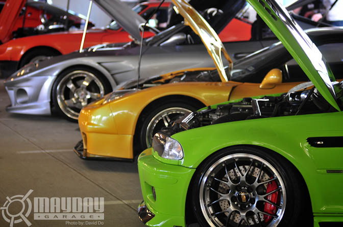 PowerFab Auto had some wicked, but well diversed cars in attendance.