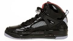 The Jordan Spizike Black/Varsity Red/Stealth Colorway