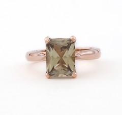 Zultanite and Rose Gold Engagement Ring (Sulusso | Sustainable Jewelry) Tags: 14k c5 rosegold radiantcut recycledgold customring zultanite