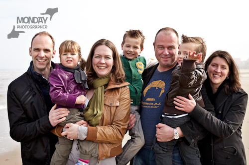 Familie relaxed portret