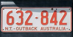 Outback License Plate