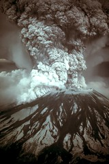 Mount St Helens in 1980