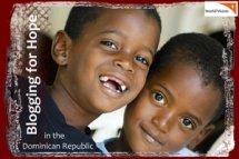 World Vision Blogging for  Hope