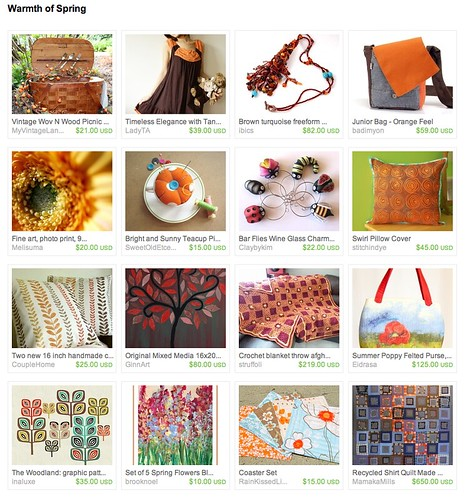 """Warmth of Spring Etsy Treasury"" ""recycled quilt"" ""eco quilt"" ""memory quilt"" ""mamaka mills"" ""alix joyal"""